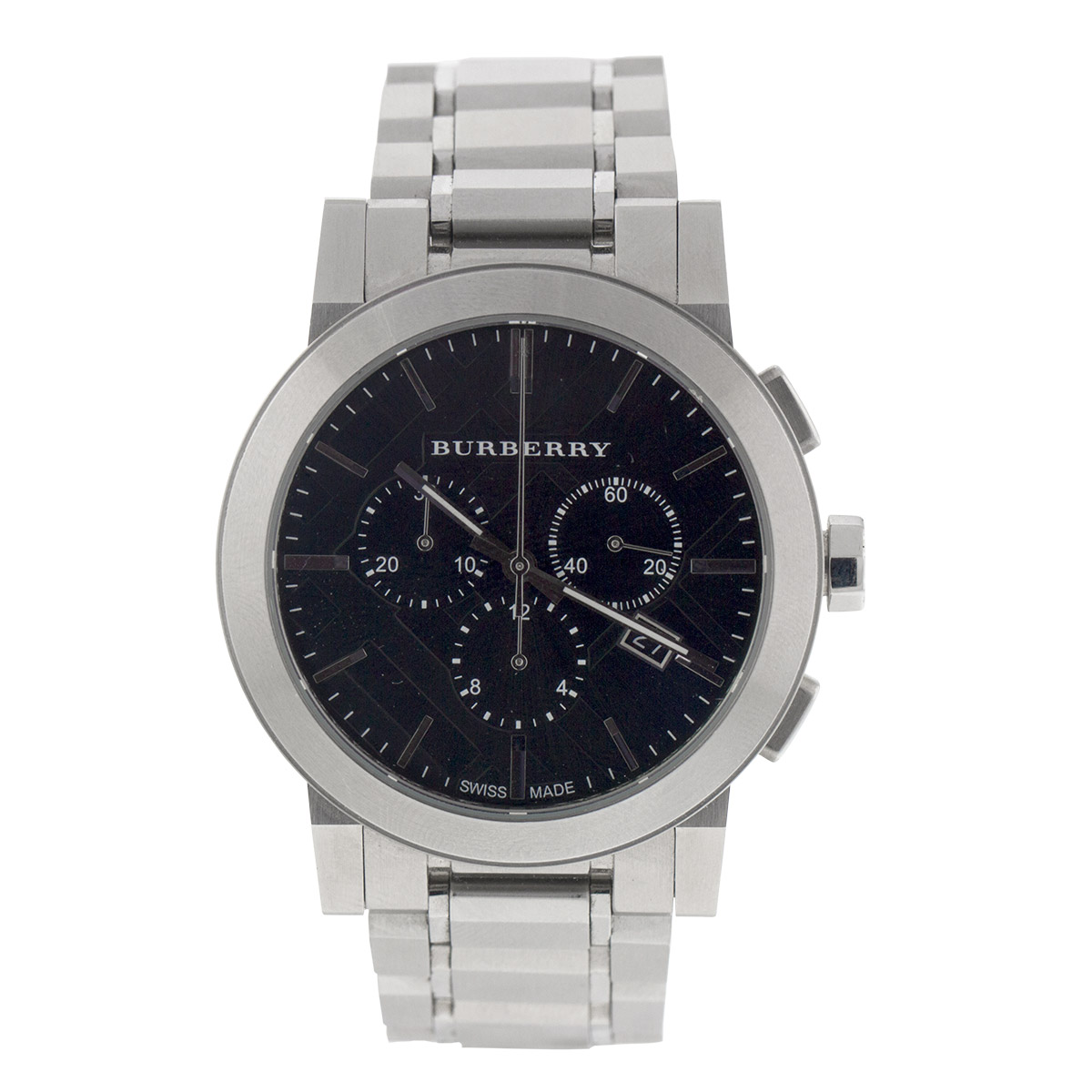 "Image of ""Burberry Burberry The City Chrono Mens Watch Bu9351"""