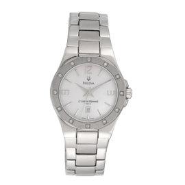 Bulova Stainless Steel Diamonds 32.5mm Womens Watch
