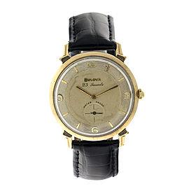 Bulova Vintage 23 Jewel Manual Wind Watch