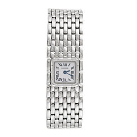 Cartier Panthere Ruban 2420 Stainless Steel Quartz 21mm Womens Watch
