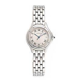 Cartier Cougar Stainless Steel Quartz 29mm Womens Watch