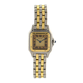 Cartier Ladies Two Tone Vintage Panthere Watch