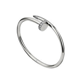 Cartier Juste Un Clou Bracelet WG DIA Size 18