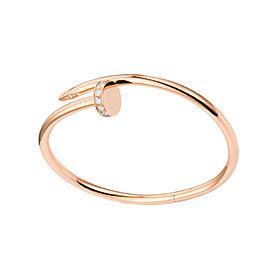 Cartier Juste Un Clou B6039017 Bracelet RG DIA Size 19