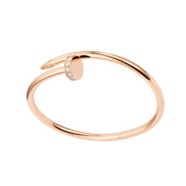 Cartier Juste Un Clou B6039017 Bracelet RG DIA Size 17