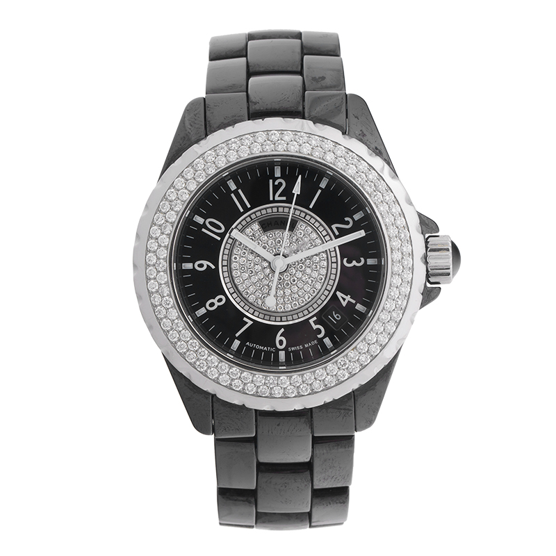 """Image of """"Chanel J12 H1709 Black Ceramic and Stainless Steel Automatic 38mm"""""""
