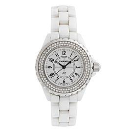 Chanel J12 H0967 Ceramic Quartz 33mm Womens Watch
