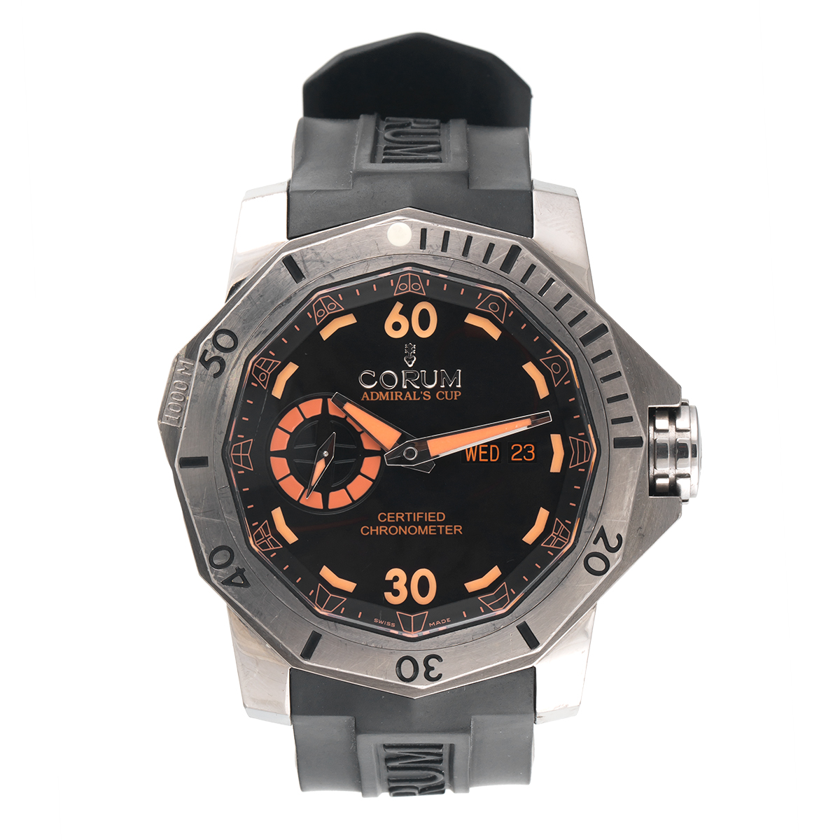 """""Corum Admiral's Cup Seafender 947.950.04/0371 An15 Stainless Steel"""""" 1662653"