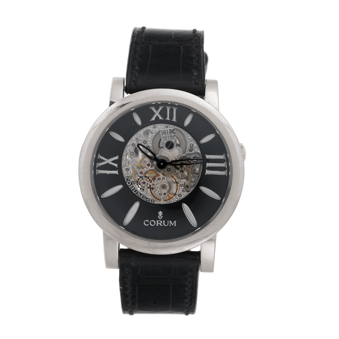 "Image of ""Corum Limited Edition Skylight 18K White Gold Skeleton 42.5mm Mens"""