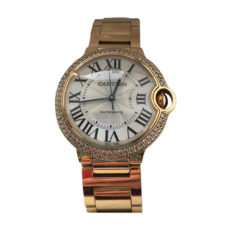 Cartier Ballon Bleu 18K Yellow Gold 36.60mm Watch