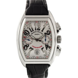 Franck Muller Mens Stainless Steel Conquistador 8002CC