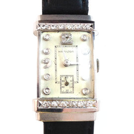 Vintage Hamilton Art Deco Extra Diamond Dial