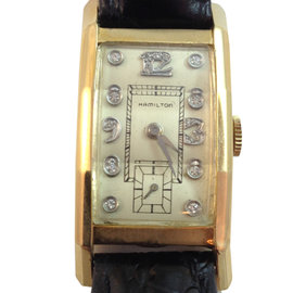 Vintage Hamilton Art Deco Diamond Dial