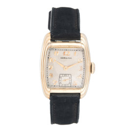 Hamilton 10K Gold Filled Manual Wind 29mm Unisex Dress Watch 1937