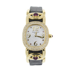 Patek Philippe 4834 Yellow Gold Ladies Watch