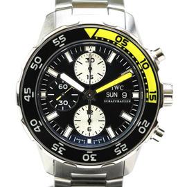 IWC Aquatimer Chronograph Day Date Automatic Dive
