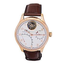 IWC Portugieser Tourbillon Mystere IW504402 18K Rose Gold Watch