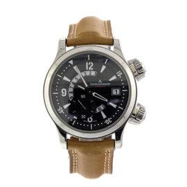 Jaeger-LeCoultre Master Compressor Dualmatic Steel Mens Watch