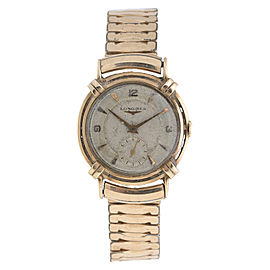 Longines Vintage Gold-Tone Stainless Steel Manual 33mm Watch
