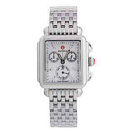 Michele Deco Diamond Dial Ladies Watch MW06P00A0046