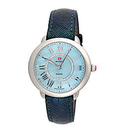 Michele Serein MW21B00A0063 Stainless Steel Blue Diamond Dial 36mm Womens Watch