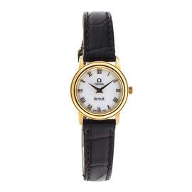 Omega Deville Prestige 18K Yellow Gold 22mm Watch