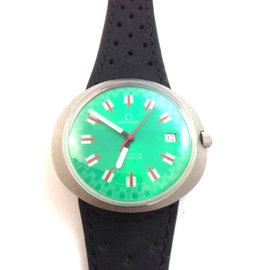 Omega Green Geneve 41mm Dynamic Date Watch