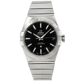 Omega Constellation 123.10.38.21.01.002 Stainless Steel Mens Watch