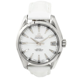 Omega Seamaster Aqua Terra 231.13.39.21.55.001 Stainless Steel Womens Watch