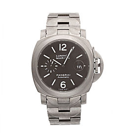 Panerai Luminor Marina PAM00279 Titanium with Black Dial 44mm Mens Watch