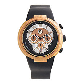 Philip Stein Active Chronograph Rose Gold-Tone 45mm Watch