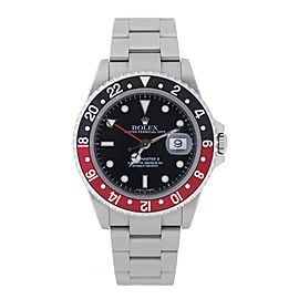 Rolex GMT Master II 16710T Stainless Steel Coke Bezel 40mm Watch