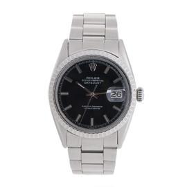 Vintage Rolex Datejust 36mm Stainless Steel Watch
