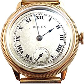 Vintage Rolex 34mm Stainless Steel Watch