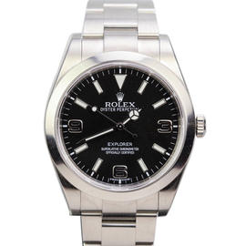 Rolex Explorer Stainless Steel Automatic 39mm Watch