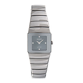 Rado Diastar 153.033.4 Ceramic Over Titanium 22mm Womens Watch