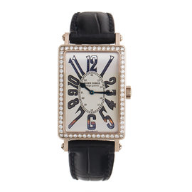 Roger Dubuis Much More Factory Diamonds 18K White Gold Winder Watch