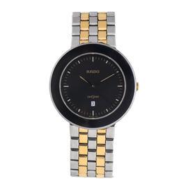 Rado Diastar 152.0343.3 Titanium and Gold-Tone Quartz Date 36mm Watch