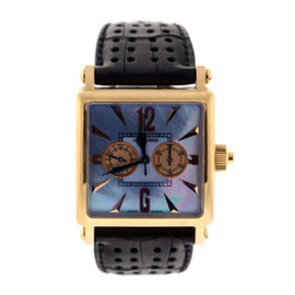 Roger Dubuis Golden Square 18k Rose Gold