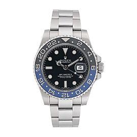 Rolex GMT Master II 116710BLNR Batman Bezel Stainless Steel Watch