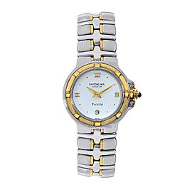 Raymond Weil 9990 Parsifal White Dial Two Tone Womens Watch
