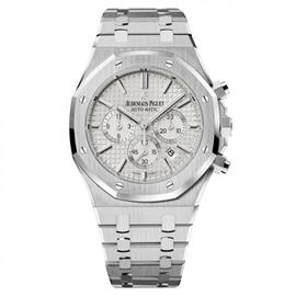 Audemars Piguet Royal Oak Chronograph 41 Steel Silvered Dial 26320ST.OO.1220ST.02