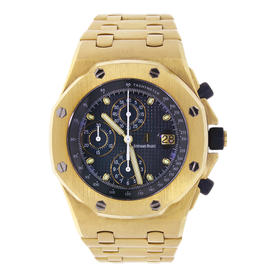 Audemars Piguet Royal Oak Offshore Yellow Gold Chronograph Watch 25721BA.OO.1000BA.02.A