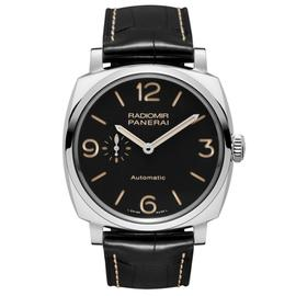 Panerai Radiomir 1940 3 Day Power Reserve Steel Watch on Strap PAM00572