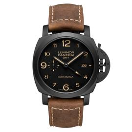 Panerai Luminor 1950 3-Day GMT Ceramica 44mm Watch PAM00441