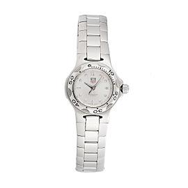 Tag Heuer Kirium Quartz Silver Dial WL1314 28.5mm Womens Watch