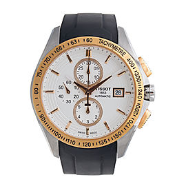 Tissot T0244272701100 Velco-T Rose Gold-Tone Stainless Steel Swiss Watch