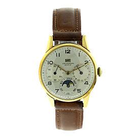 Universal Geneve Triple Date Vintage Mens Watch