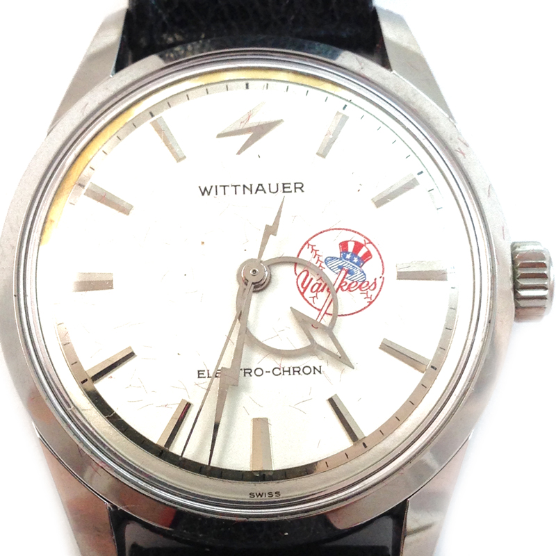 "Image of ""Super Rare Longines-Wittnauer Yankees Electrochron"""