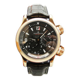 Jaeger LeCoultre Master Compressor Geographic Rose Gold 41.5mm Watch